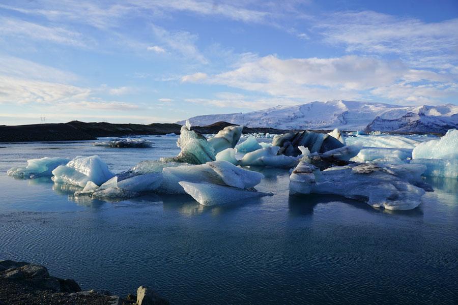 Mini icebergs