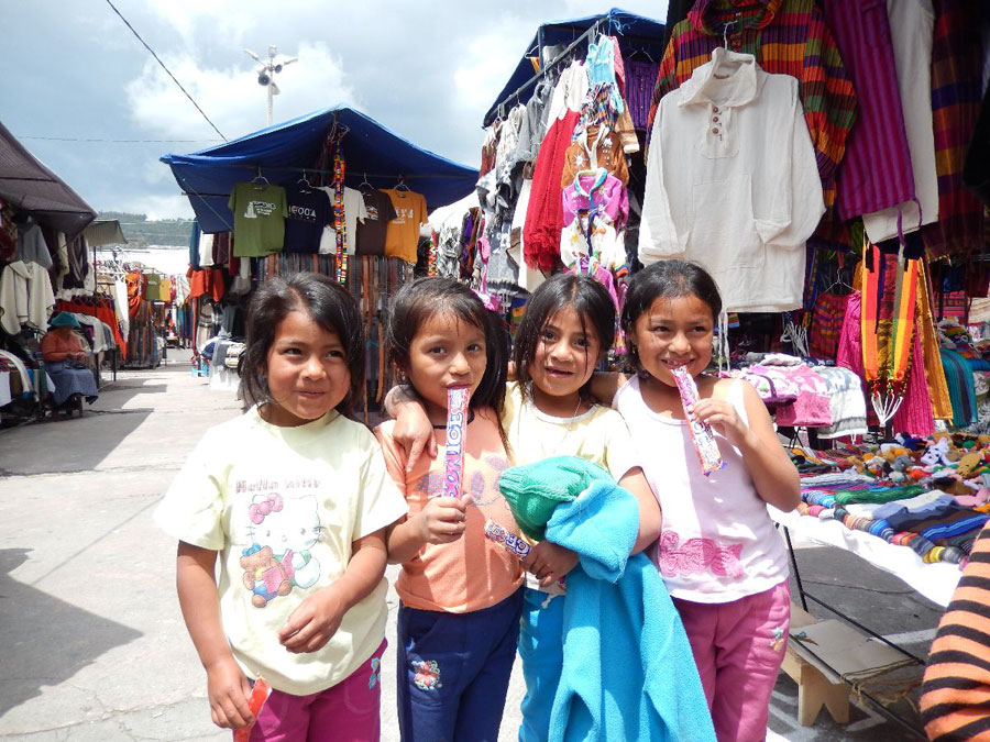 Kiddos in the marketplace