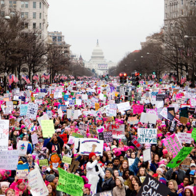 Maine to DC: Nancy Goes to the Women's March