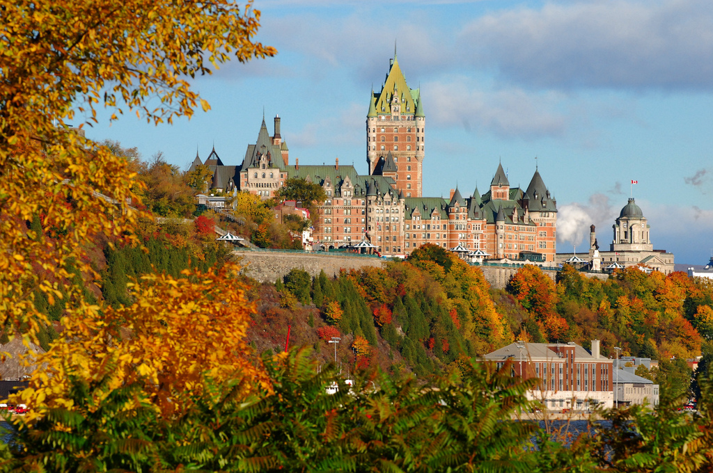 View of Chateau Frontenac