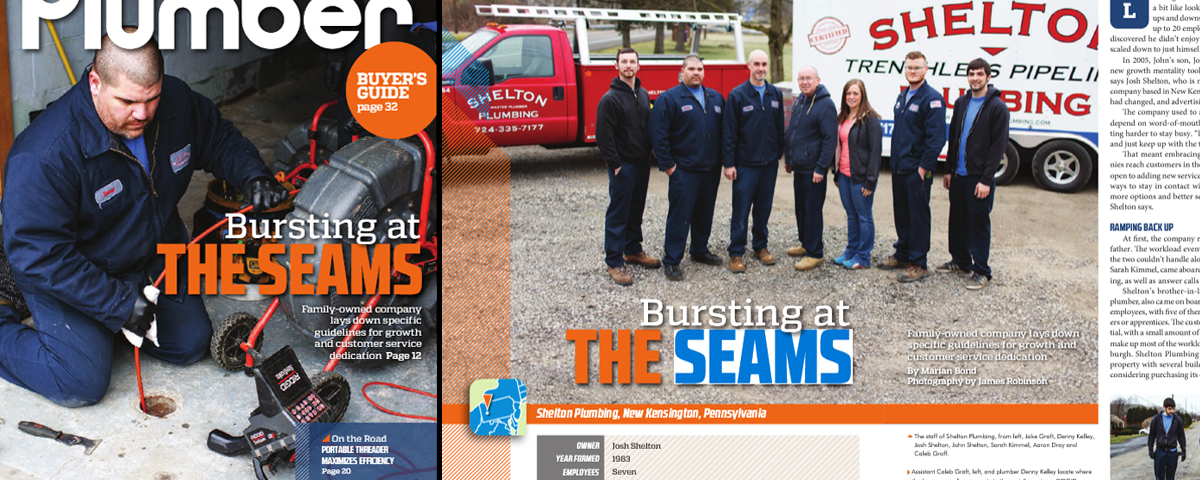 Front Cover of Plumber Magazine