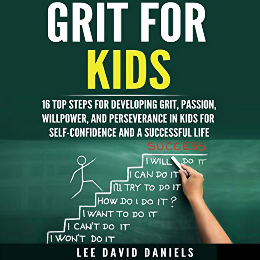 grit for kids audio book cover