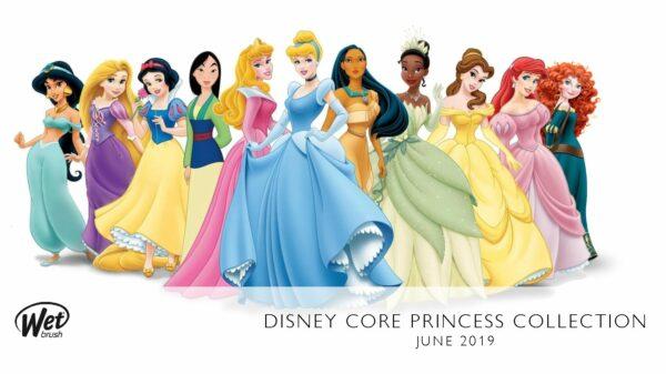 disney princess wet brush collection