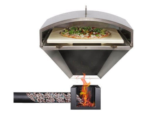 Wood Fired Pizza Attachment