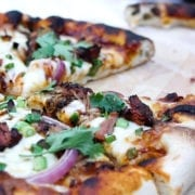Wood-Fired BBQ Pulled Pork Pizza