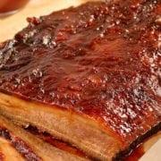 Chutney-Glazed Brisket