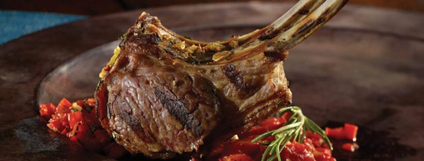Marinated Lamb Chops with Red Sauce560