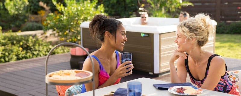 A Hot Tub Can Help You With Your New Year's Resolutions