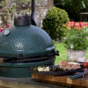 Direct Grilling on the Big Green Egg