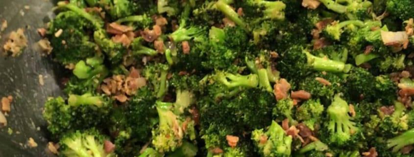 Big Green Egg Roasted Broccoli Salad