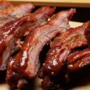 Baby Back Ribs with Quince Barbecue Sauce