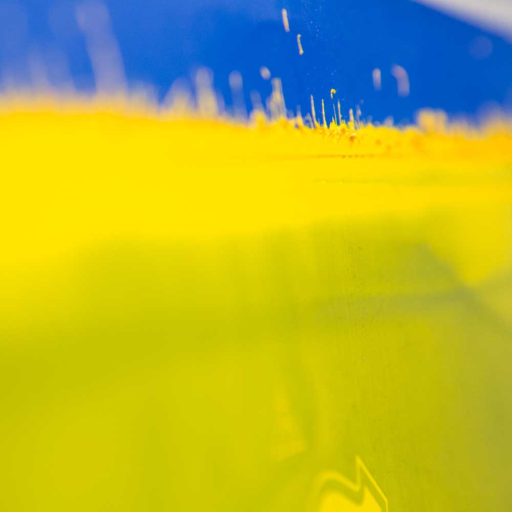 Blue Yellow up