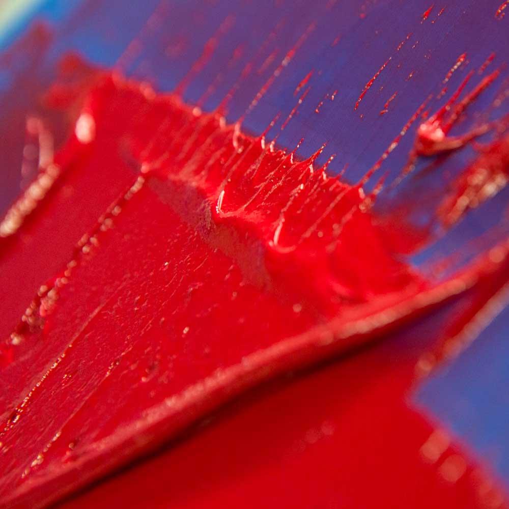Red Splash Blue