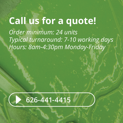 Call us for a quote