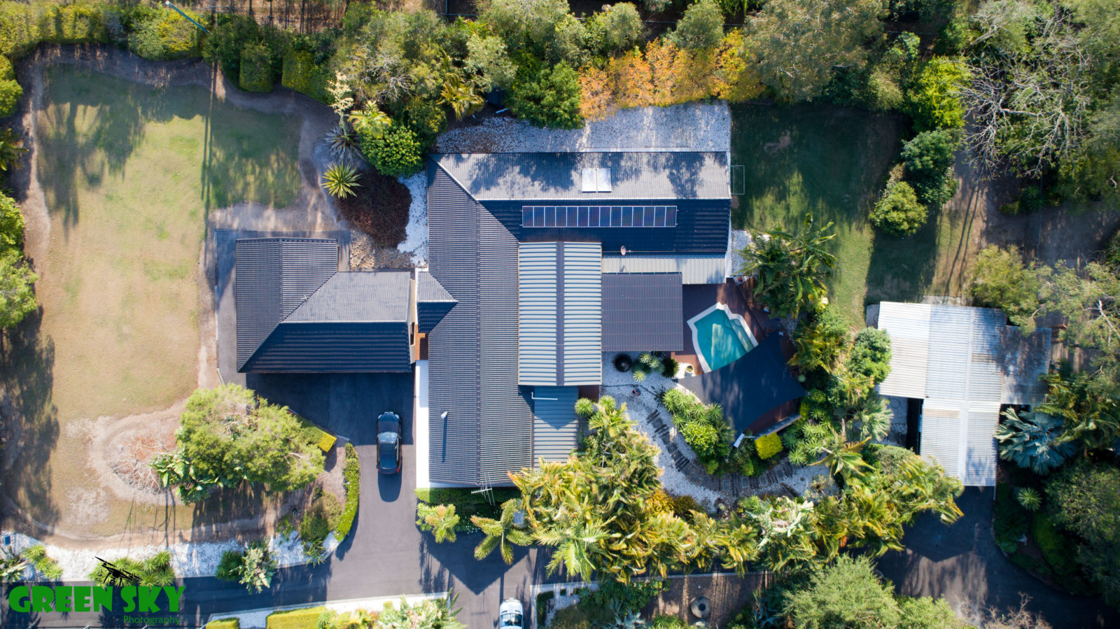 Drone real estate photography Brisbane