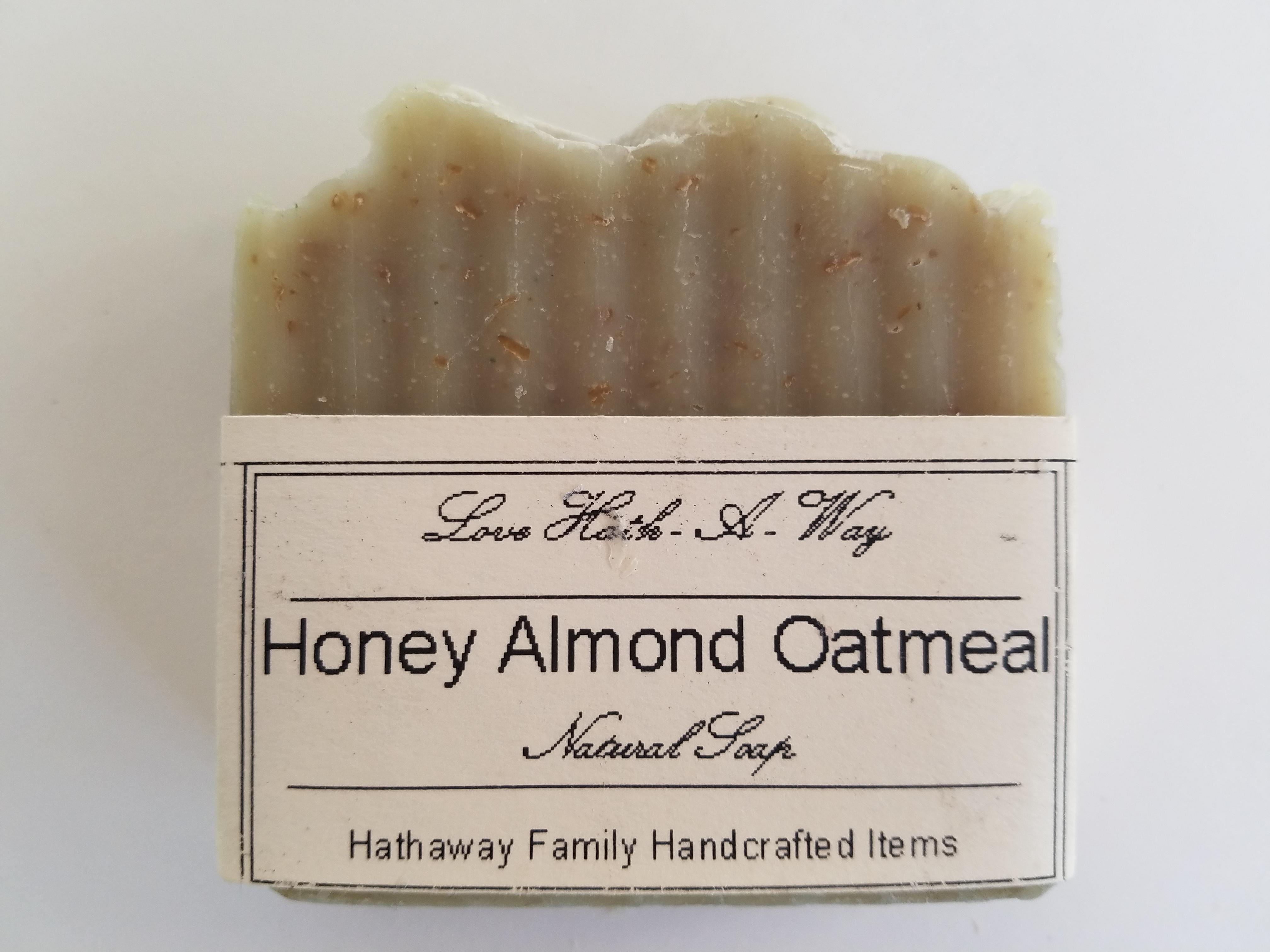 Honey Almond Oatmeal Soap