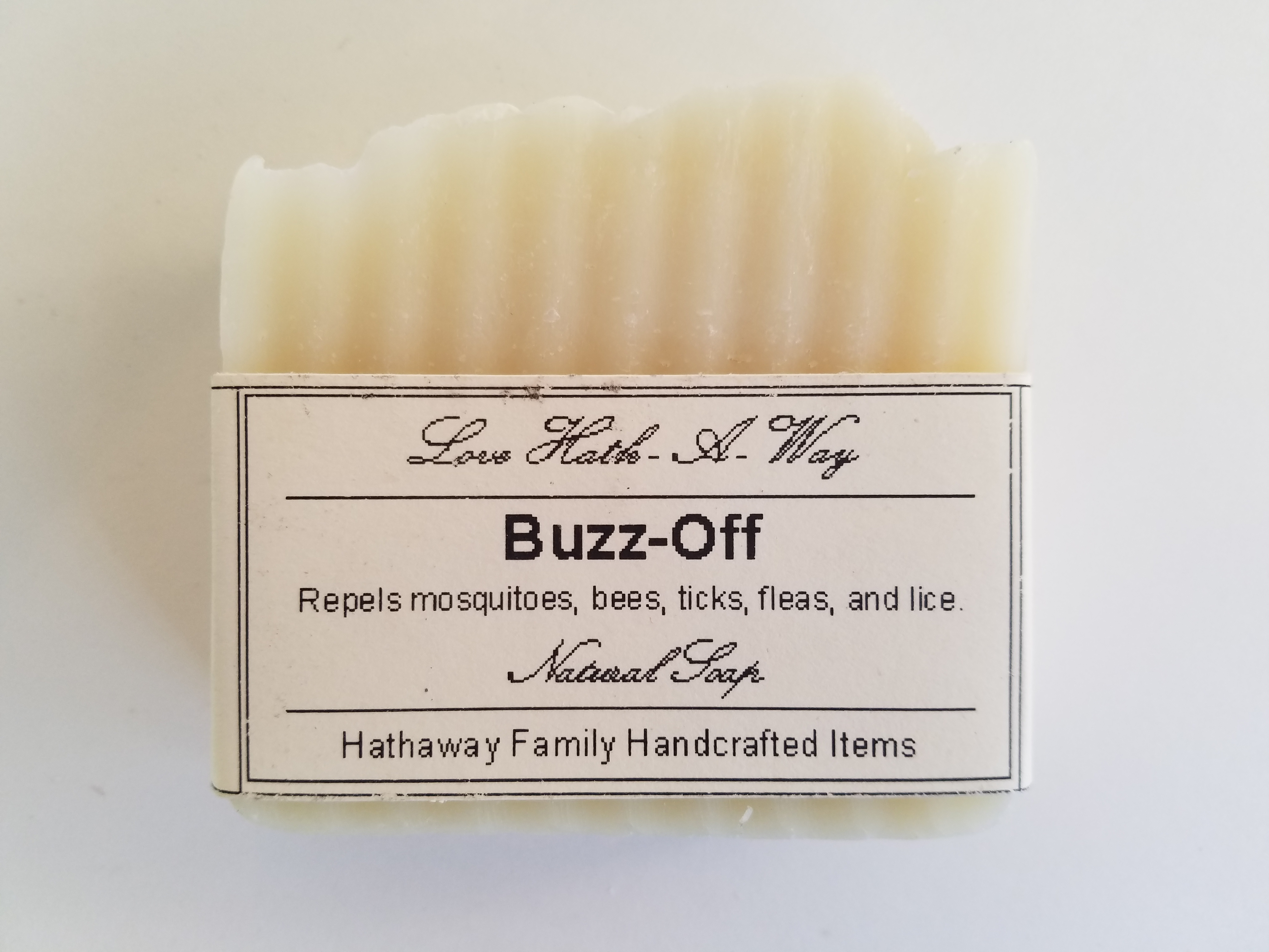 Buzz Off Soap