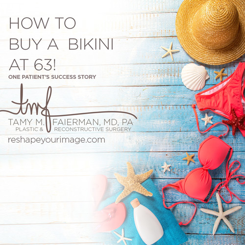 Are You Ready to Buy a Bikini at 63?