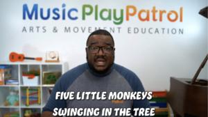 Five Little Monkeys Swinging in the Tree