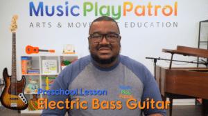 Preschool Bass Lesson