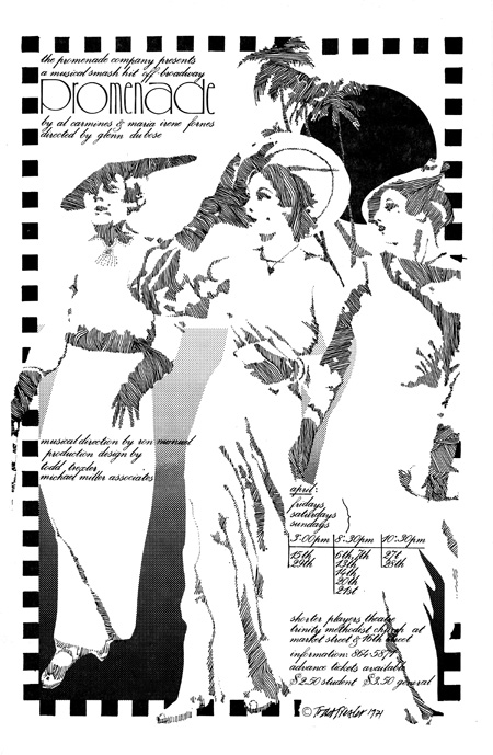 #29 - Promenade - Live off Broadway Musical directed by Glen Dubose At Trinity Methodist Church San Francisco, April 1972