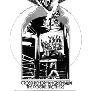 #34 - Tropo Productions Crossfire, Norman Greenbaum, The Doobie Brothers In live concert - Petaluma Veterines Memorial Auditorium July, 1972
