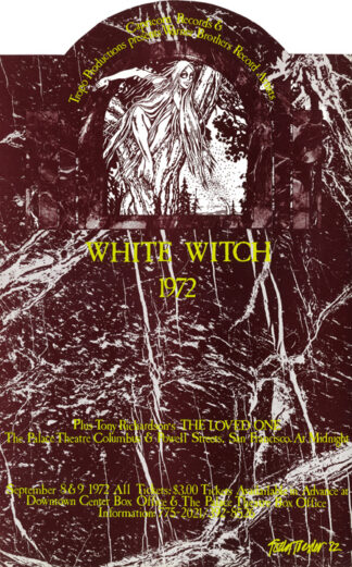 #42 – Tropo Productions & Nocturnal Dream Shows – White Witch Live on Stage in Concert – Midnight Films September, 1972