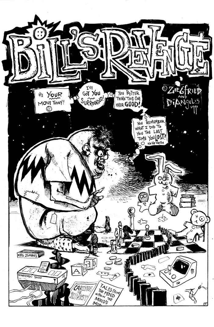 BILL's REVENGE pg. 1