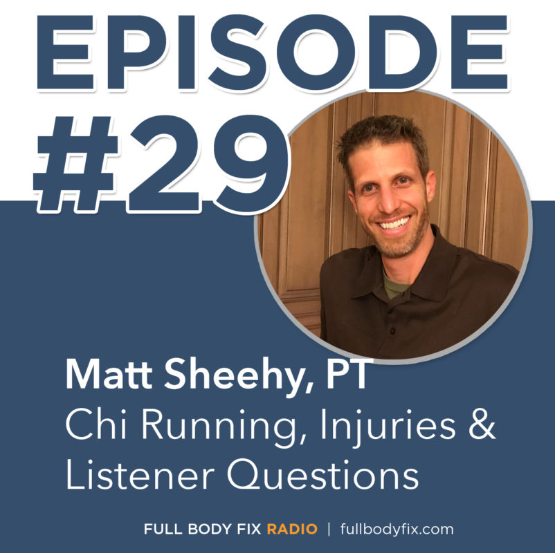 Matt Sheehy Chi Running Injuries
