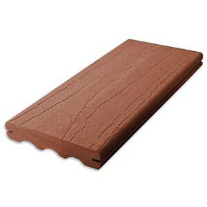 choicedek coastal redwood grooved