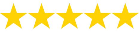 hundreds of five star reviews