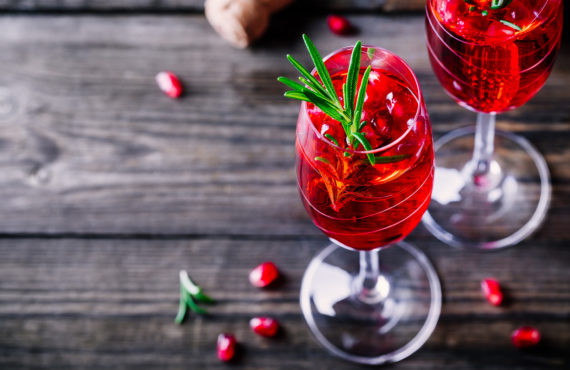 Healthy Holiday Cocktails