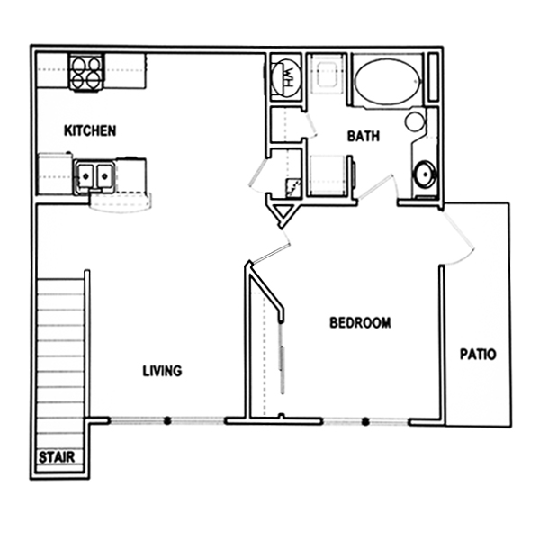 Junior one bedroom