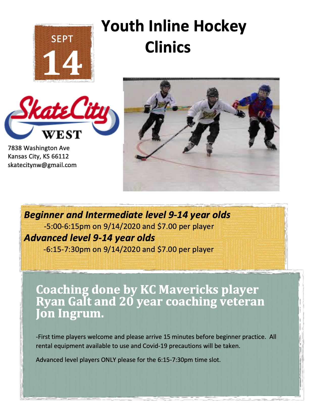 Youth Hockey Clinics main copy