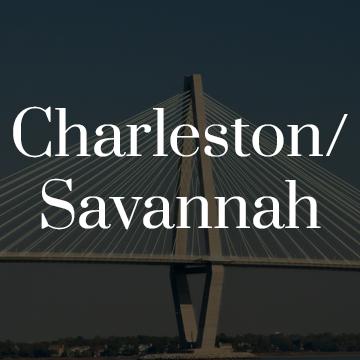 Charleston and Savannah
