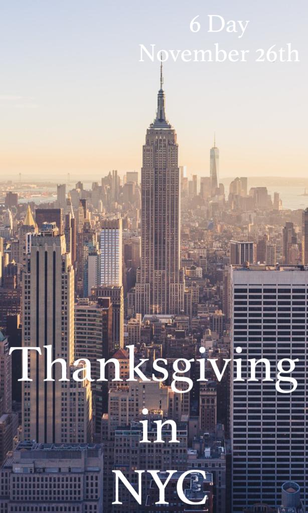 Thanksgiving in New York City
