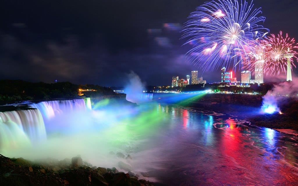 Niagara Falls Festival Lights - Knoxville Tours