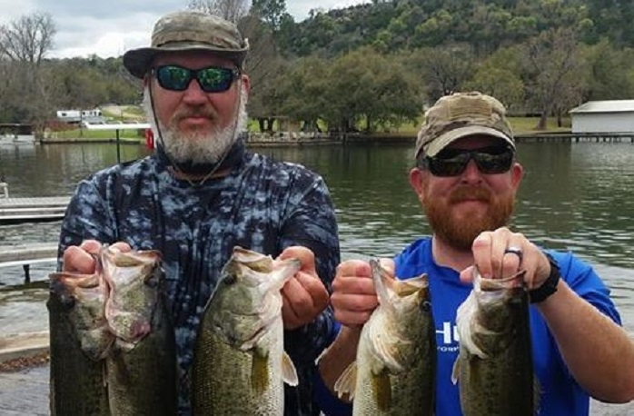 Tournament Fishing on Lake LBJ