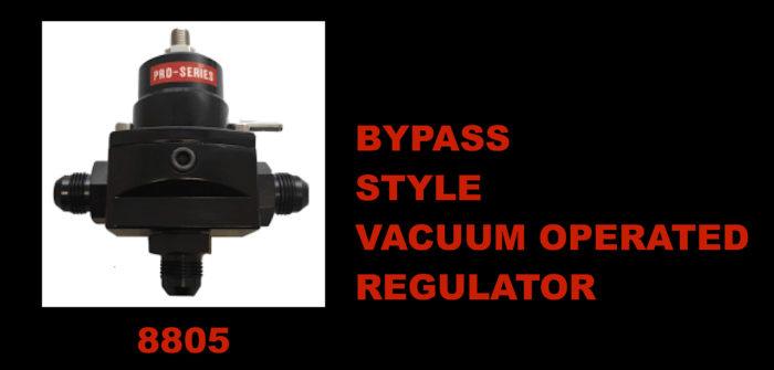 Vacuum Operated Regulator 8805 - Pro Systems Racing