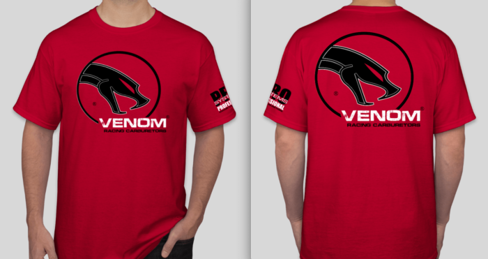VENOM - VX - Pro Systems Racing T-SHIRT 2019