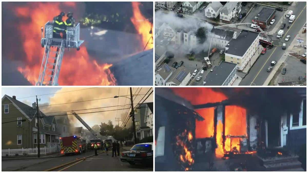 Massachusetts Gas Explosions In Merrimack Valley #MVGasFire