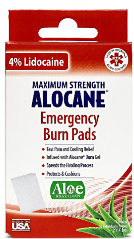 Quest Products Recalls ALOCANE Emergency Burn Pads Due to Failure to Meet Child Resistant Closure Requirement; Risk of Poisoning