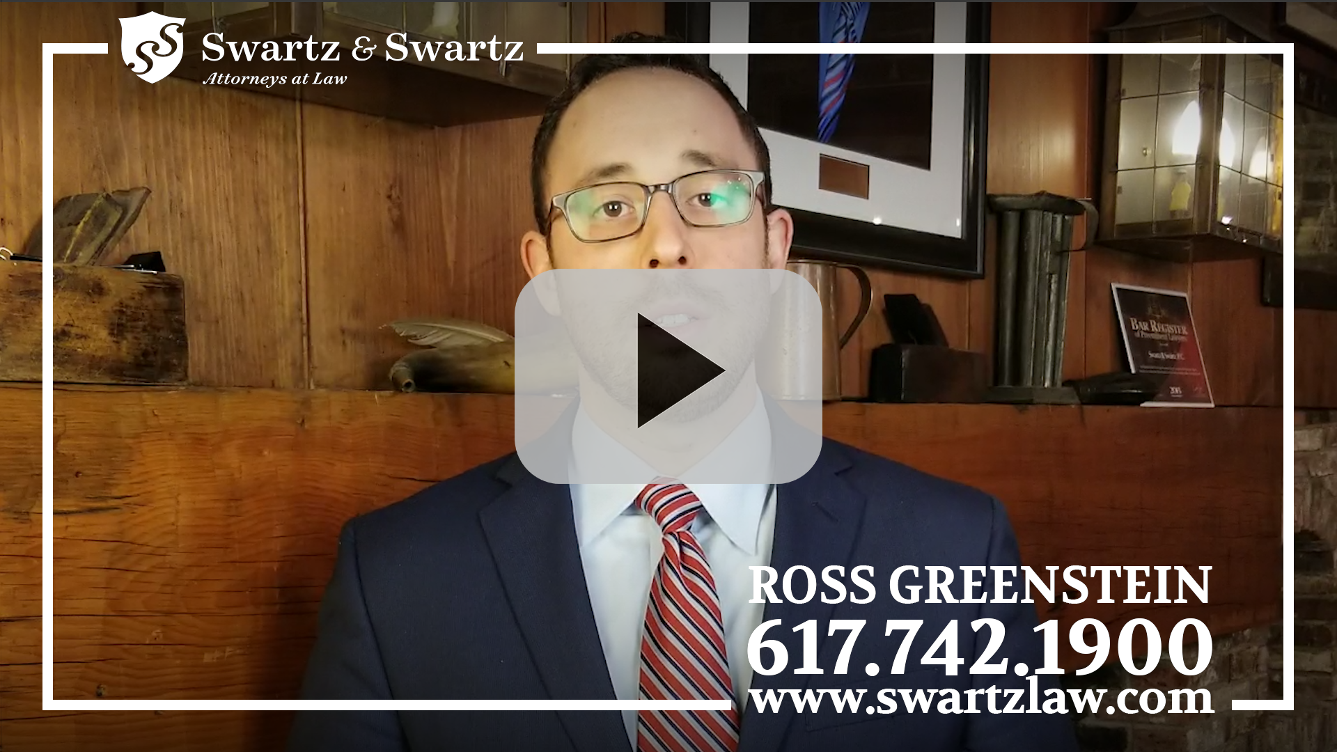 Ross Greenstein – Discusses How Swartz & Swartz Can Help If You're Involved In a Rideshare Accident