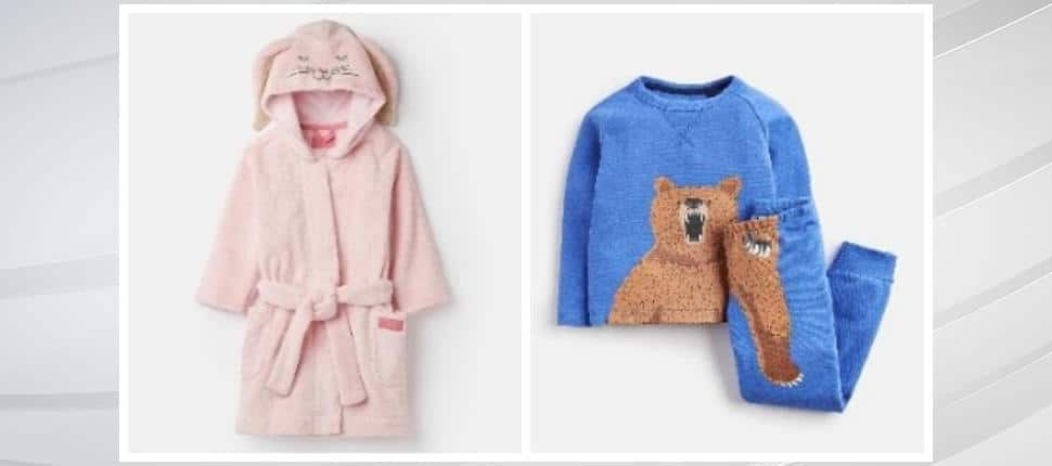 Joules USA Recalls Children's Pajamas and Robes Due to Violation of Federal Flammability Standard; Burn Hazard