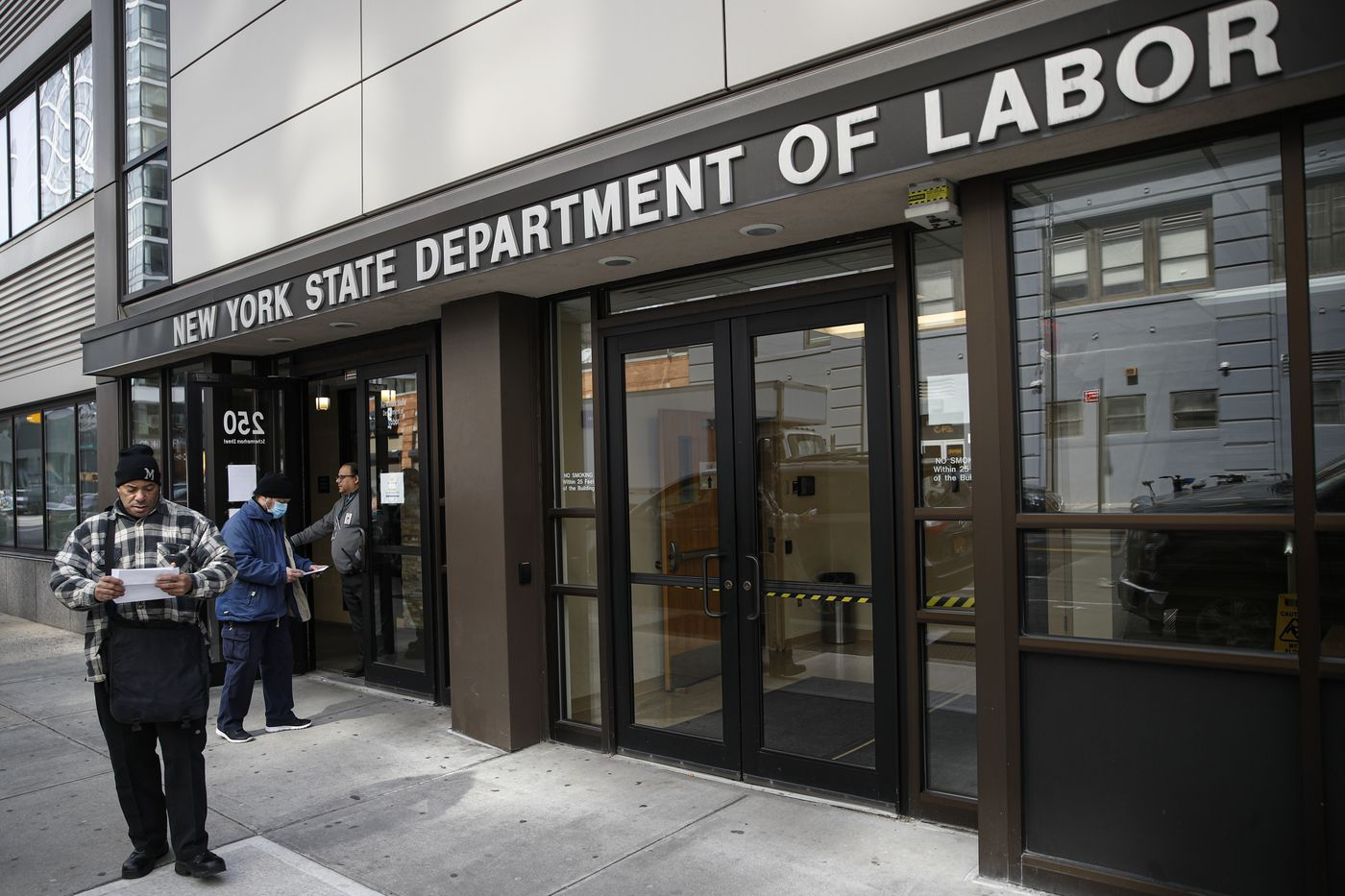 A Record 3.3M Americans File for Unemployment Benefits as the Coronavirus Takes a Big Toll on the Economy
