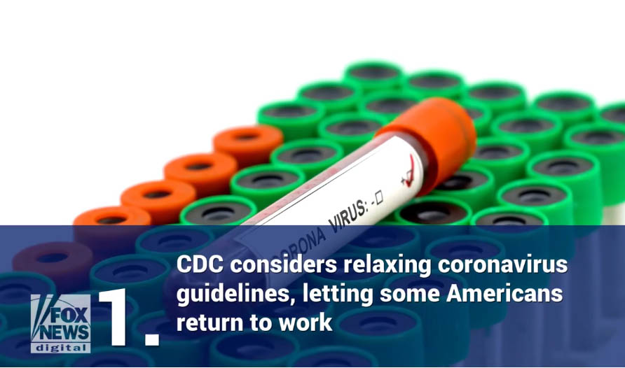CDC guidance says some essential workers exposed to coronavirus can return to work