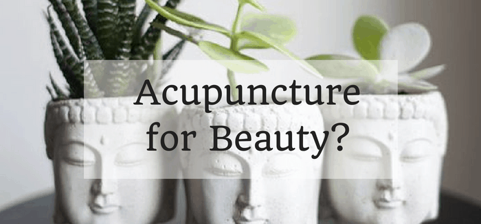 Cosmetic Acupuncture for Beauty