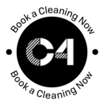 c4 white stamp for cleaning services
