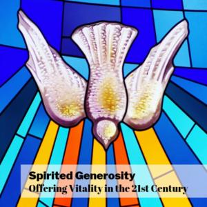 Spirited Generosity event post