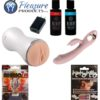Couples Toy Box 3v Starlet Stroker, Vibrator, Warming and Chilling Lube, Rhino, and Wicked Zone